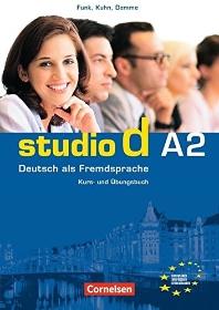 studio d. A2 Gesamtband : Kurs- und Ubungsbuch mit CD