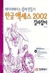 한글 액세스 2002 길라잡이(데이터베이스 쉽게 만들기)(CD-ROM 1장 포함)