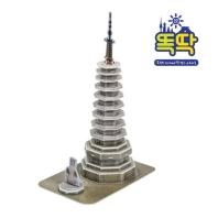 입체퍼즐 월정사 팔각구층석탑