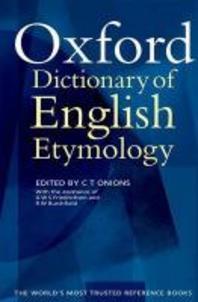 [해외]The Oxford Dictionary of English Etymology
