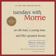 [해외]Tuesdays with Morrie (Compact Disk)