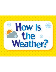 생활 영어 단어 카드 - 형용사편 01. How Is the Weather?
