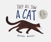 They All Saw a Cat (2017 Caldecott Honor Book)