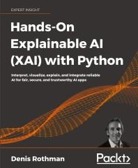 [해외]Hands-On Explainable AI (XAI) with Python