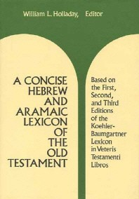Concise Hebrew and Aramaic Lexicon of the Old