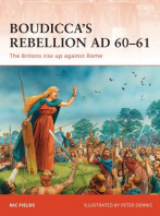 Boudicca's Rebellion AD 60-61