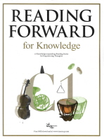 READING FORWARD FOR KNOWLEDGE C1(2011)