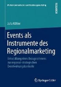 Events ALS Instrumente Des Regionalmarketing