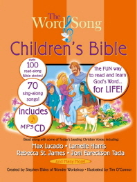 The Word & Song Children's Bible(CD1장포함)(양장본 HardCover)