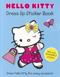 [해외]Hello Kitty Dress Up Sticker Book