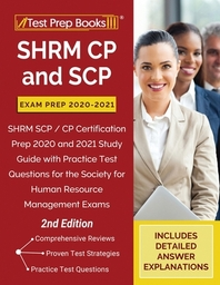[해외]SHRM CP and SCP Exam Prep 2020-2021