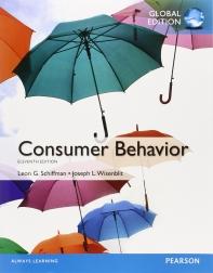 Consumer Behavior(Global Edition)(Schiffman)