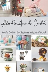 [해외]Adorable Animals Crochet