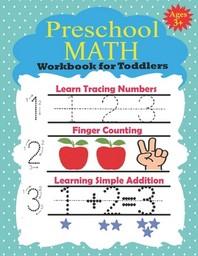 [해외]Preschool Math Workbook for Toddlers Ages 3+
