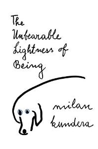 [보유]The Unbearable Lightness of Being ( Perennial Classics )