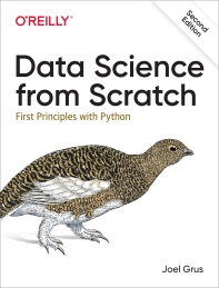 [해외]Data Science from Scratch
