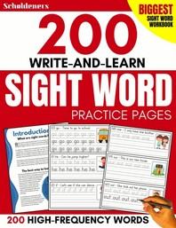 [해외]200 Write-and-Learn Sight Word Practice Pages