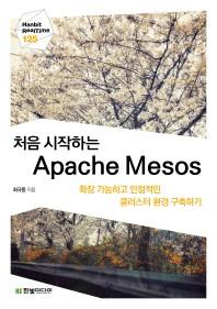 처음 시작하는 Apache Mesos(Hanbit RealTime 125)