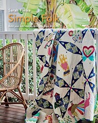 [해외]Simple Folk Quilt Pattern with instructional videos