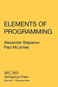 [해외]Elements of Programming (Paperback)