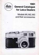 Leica General Catalogue for 1961