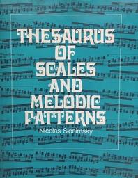 [해외]Thesaurus of Scales and Melodic Patterns