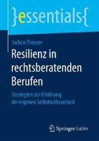 [해외]Resilienz in Rechtsberatenden Berufen (Paperback)