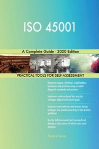 [해외]ISO 45001 A Complete Guide - 2020 Edition