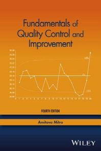 Fundamentals of Quality Control and Improvement, 0004/E
