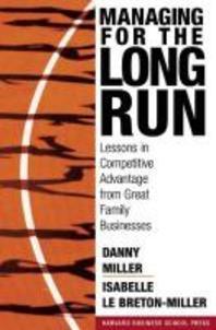 [해외]Managing for the Long Run