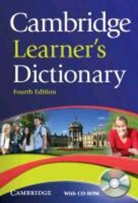 [해외]Cambridge Learner's Dictionary [With CDROM]