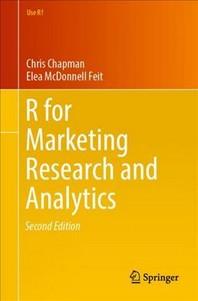 [해외]R for Marketing Research and Analytics