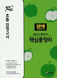 초졸 검정고시 핵심총정리(2019)(합격예감)