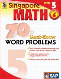 [해외]70 Must-Know Word Problems, Grade 6