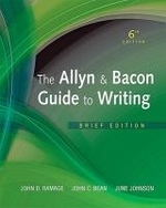 The Allyn and  Bacon Guide to Writing (Paperback)