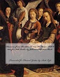 Chaconne from Partita No. 2 in D Minor, Bwv 1004, by Johann Sebastian Bach