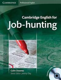CAMBRIDGE ENGLISH FOR JOB-HUNTING(CD2장포함)