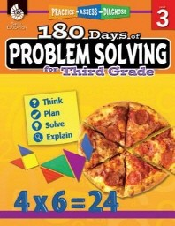 [해외]180 Days of Problem Solving for Third Grade