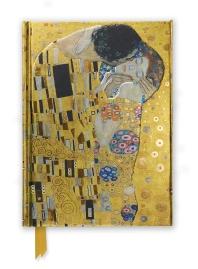 Gustav Klimt: The Kiss (Foiled Journal) 미사용
