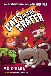 [해외]Cats in the Crater (Hardcover)