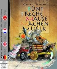 Fuenf freche Maeuse machen Musik (Buch mit DVD)