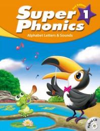 Super Phonics(슈퍼 파닉스). 1(SB)(2판)(CD2장포함)