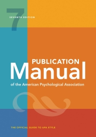 [해외]Publication Manual of the American Psychological Association