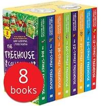 Treehouse 8-Book Set 나무집 시리즈 8종 세트 (영국판)(Paperback)