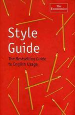 Style Guide, 9/e