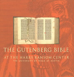 The Gutenberg Bible at the Harry Ransom Center