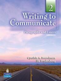 WRITING TO COMMUNICATE. 2