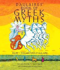 [해외]D'Aulaires' Book of Greek Myths (Compact Disk)