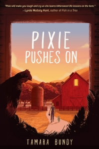 Pixie Pushes on