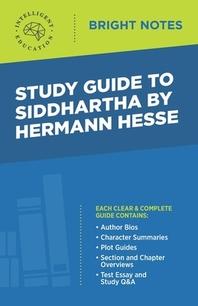 [해외]Study Guide to Siddhartha by Hermann Hesse